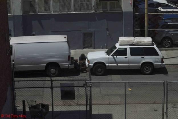mattress on top of car